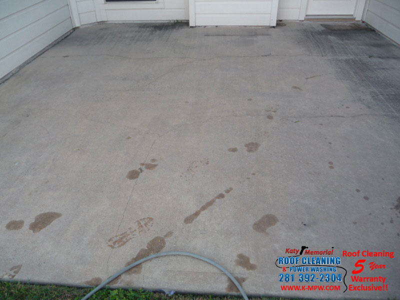 Pressure washing houston photo of philu0027s pressure for Pressure wash concrete patio