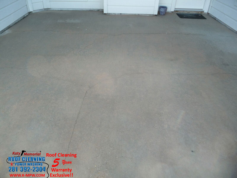 Concrete Patio Pressure Washing Houston Texas