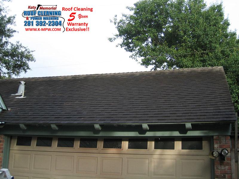 Asphalt Shingle Roof Cleaning Houston Tx