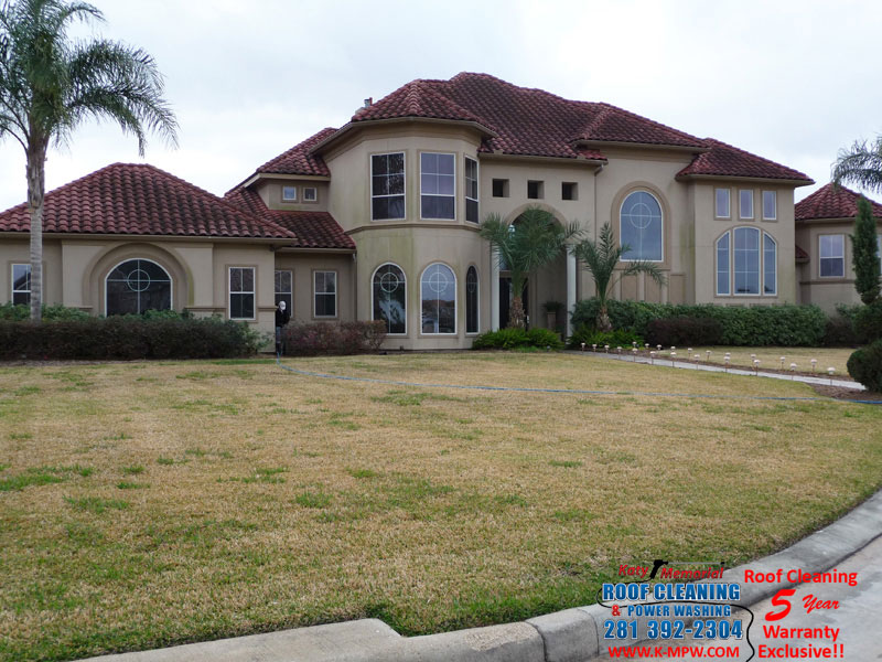 Tile Roof Cleaning Houston Tx